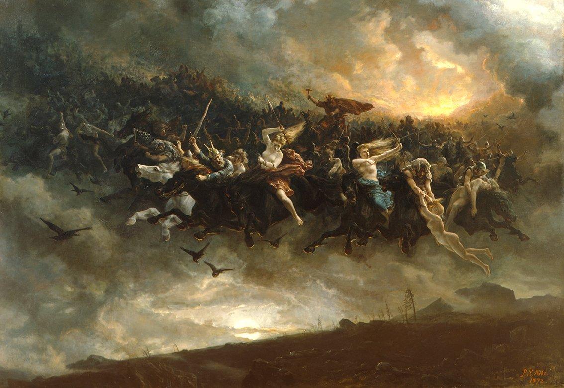 ÅSGÅRDSREIEN 1872 av Peter Nicolai Arbo