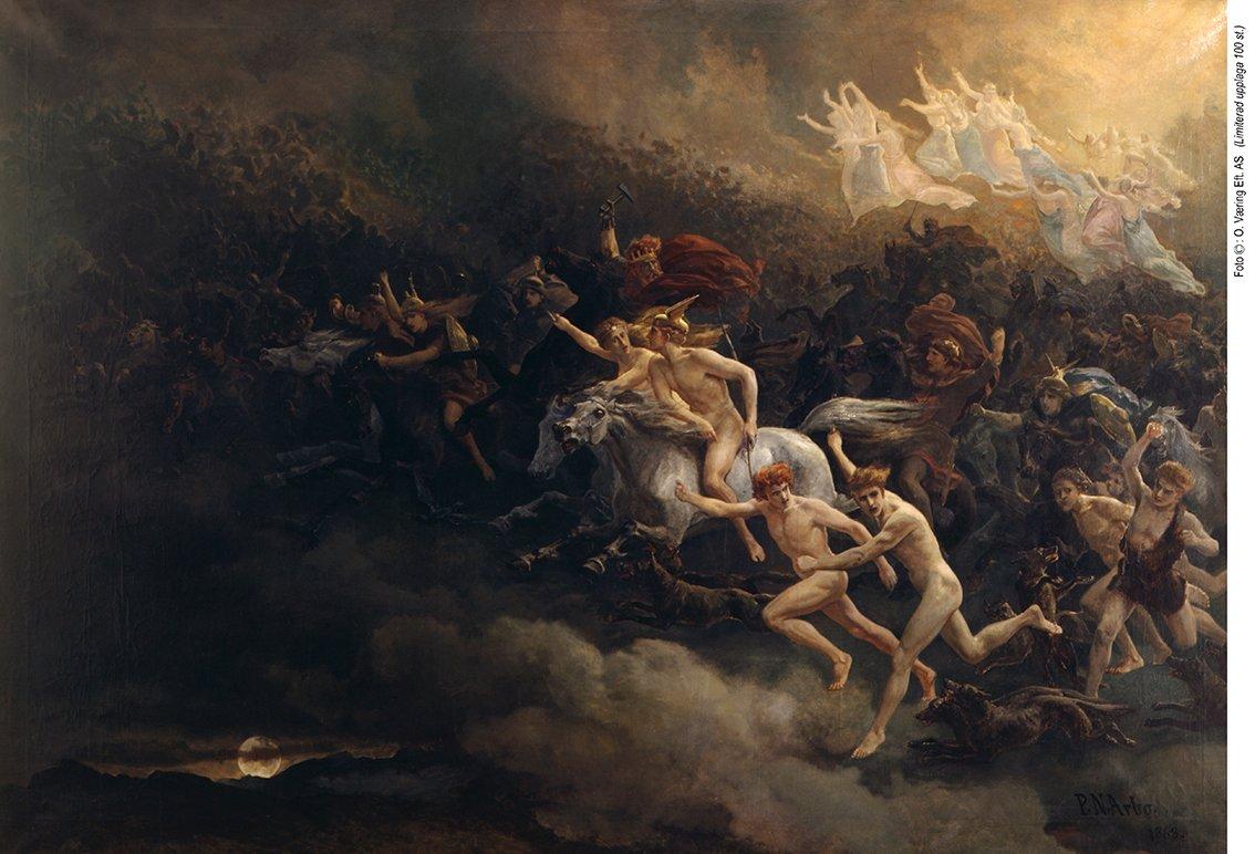ÅSGÅRDSREIEN 1868 av Peter Nicolai Arbo
