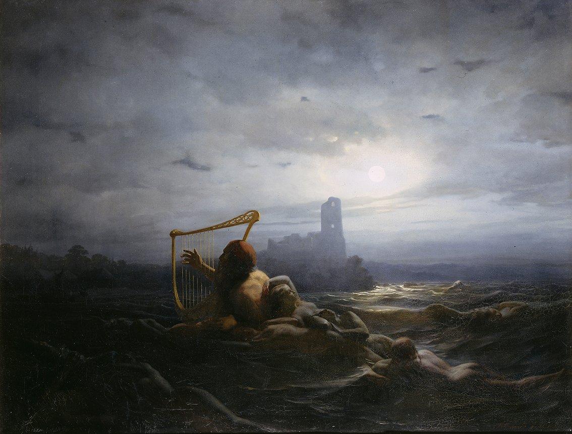 NÄCKEN OCH ÄGIRS DÖTTRAR av Nils Blommér