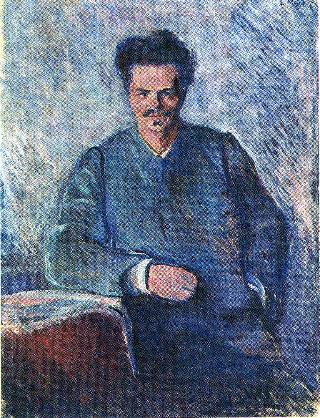 AUGUST STRINDBERG av EDVARD MUNCH