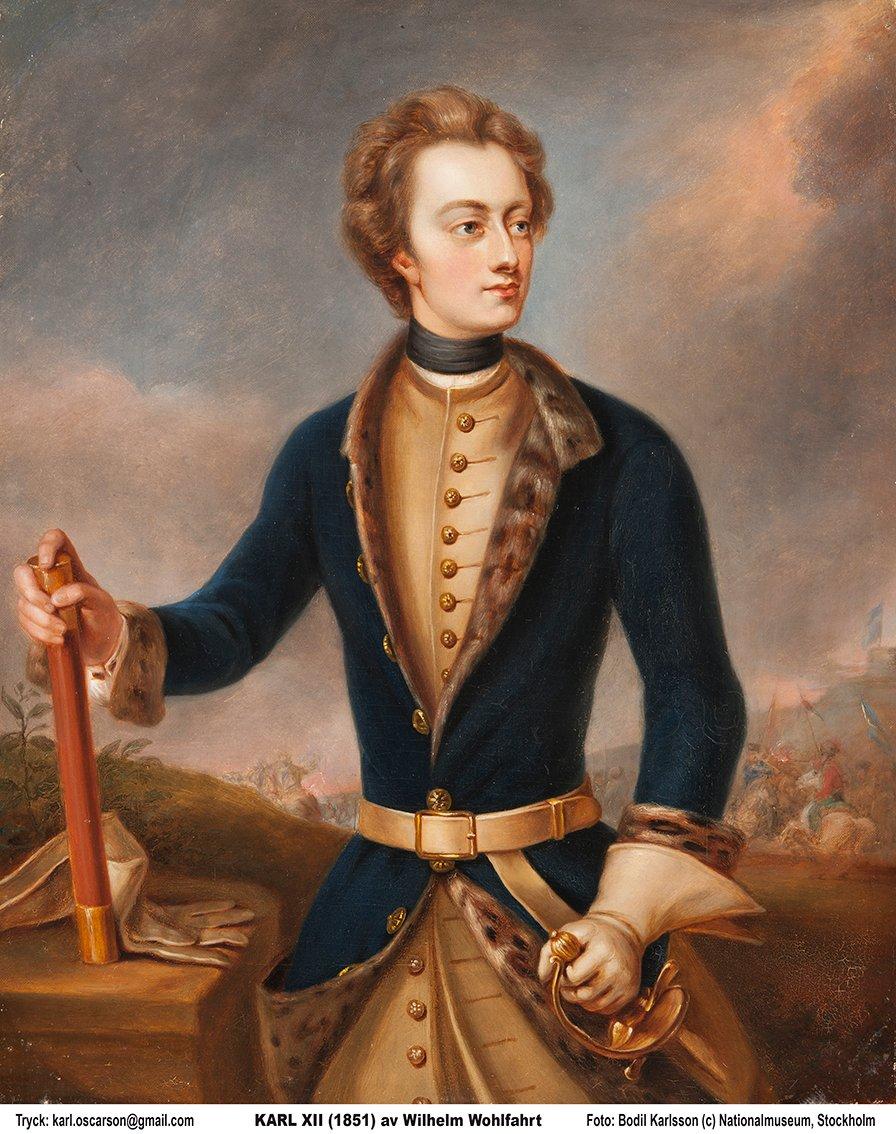 KARL XII av WILHELM WOHLFAHRT