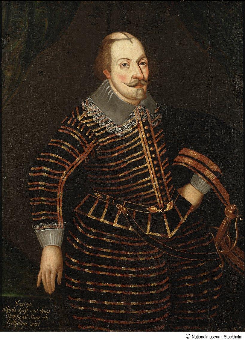 KARL IX av Okänd Mästare
