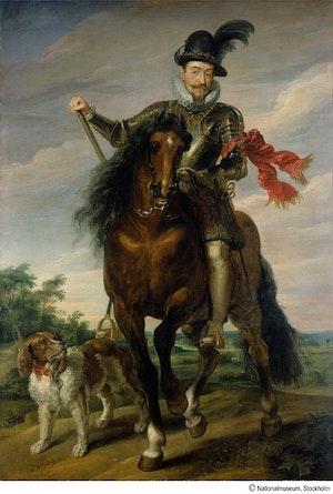 SIGISMUND III VASA TILL HÄST av Peter Paul Rubens