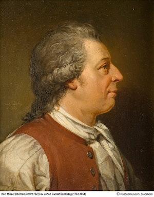 CARL MICHAEL BELLMAN av Johan Gustaf Sandberg