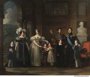 BERNADOTTESKA FAMILJETAVLAN av FREDRIC WESTIN