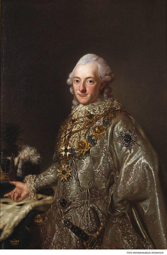 KARL XIII VID GUSTAV III KRÖNING 1772 av Okänd Mästare