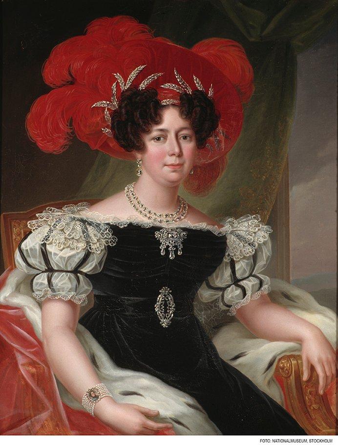 DROTTNING DESIDERIA 1830 av FREDRIC WESTIN