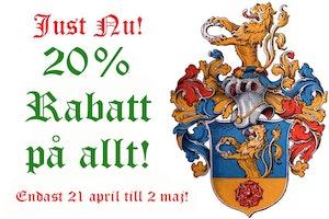VÅR-REA: 20% RABATT PÅ ALLT