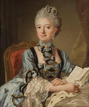 LOVISA ULRIKA Drottning av Sverige. Av LORENS PASCH D.Y.