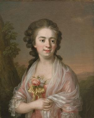 ULRIKA PASCH. Självporträtt 1770.