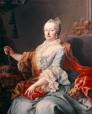 DROTTNING MARIA TERESIA AV ÖSTERRIKE 1759 av Martin van Meytens