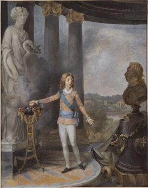 GUSTAV IV ADOLF OFFRAR TILL HYGIEIA av Niklas Lafrensen