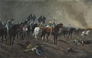 GUSTAV II ADOLF I SLAGET VID LÜTZEN av CARL GABRIEL WADELL