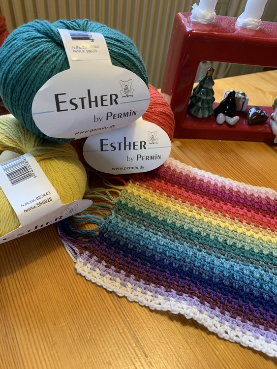 Startpaket Temperaturfilt i Esther by Permin