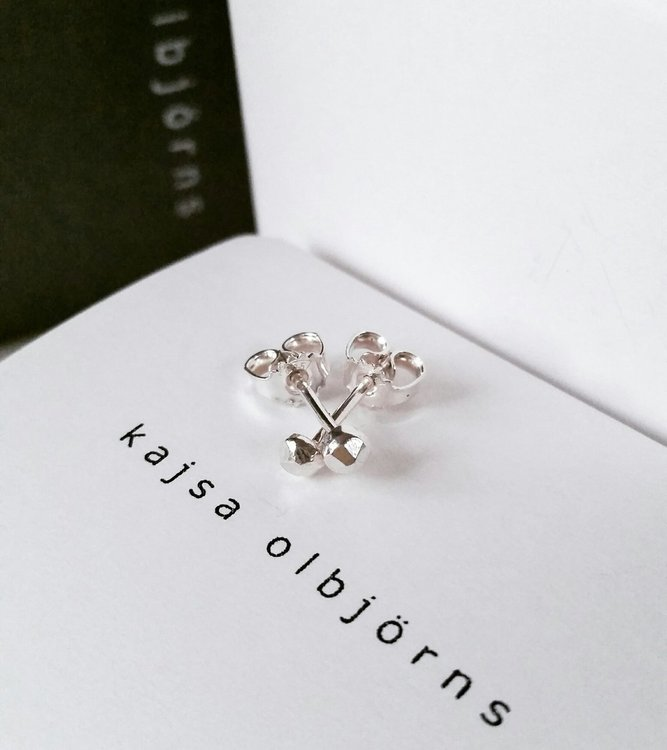 ESTHER STUDS SILVER