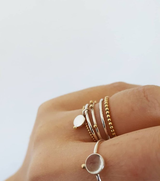 PENOLOPE MIXED DOTS RING