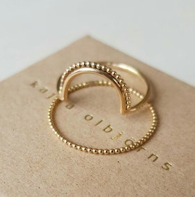 EBBA DOTS GOLD
