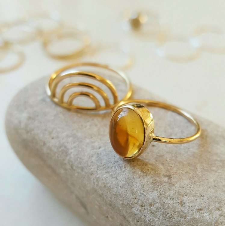 SELMA CITRINE GOLD