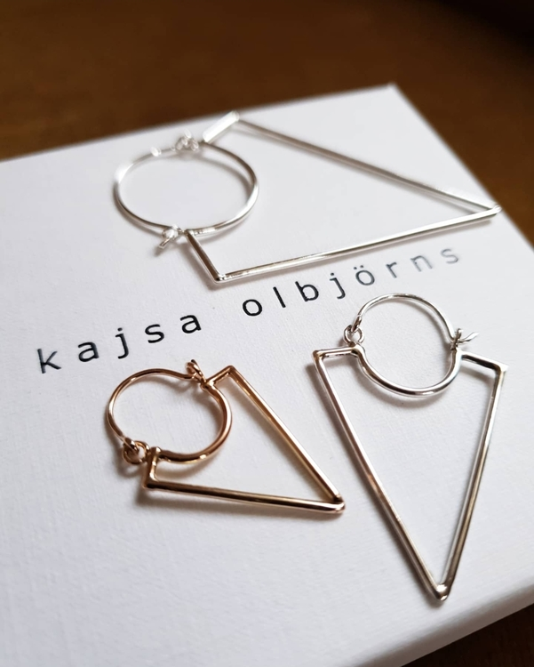 VILJA EARRING SINGLE - 18K GOLD