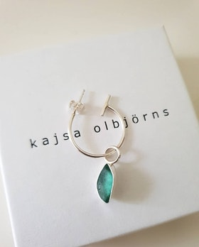 BEACH GLASS EARRING - SINGLE
