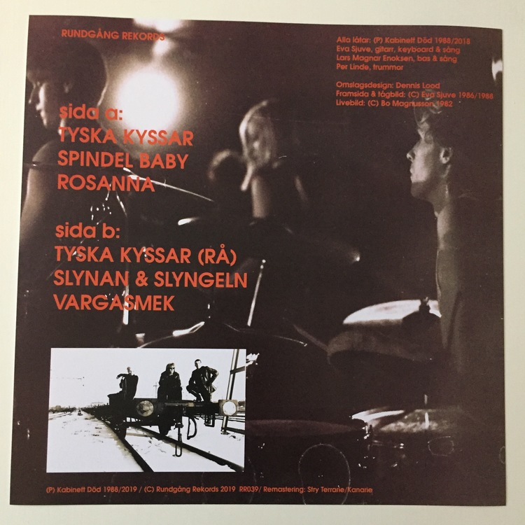 Kabinett Död - Spindel Baby Mini-LP