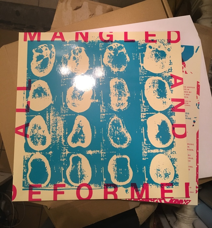 All Mangled And Deformed - A tribute to Hammerhead LP
