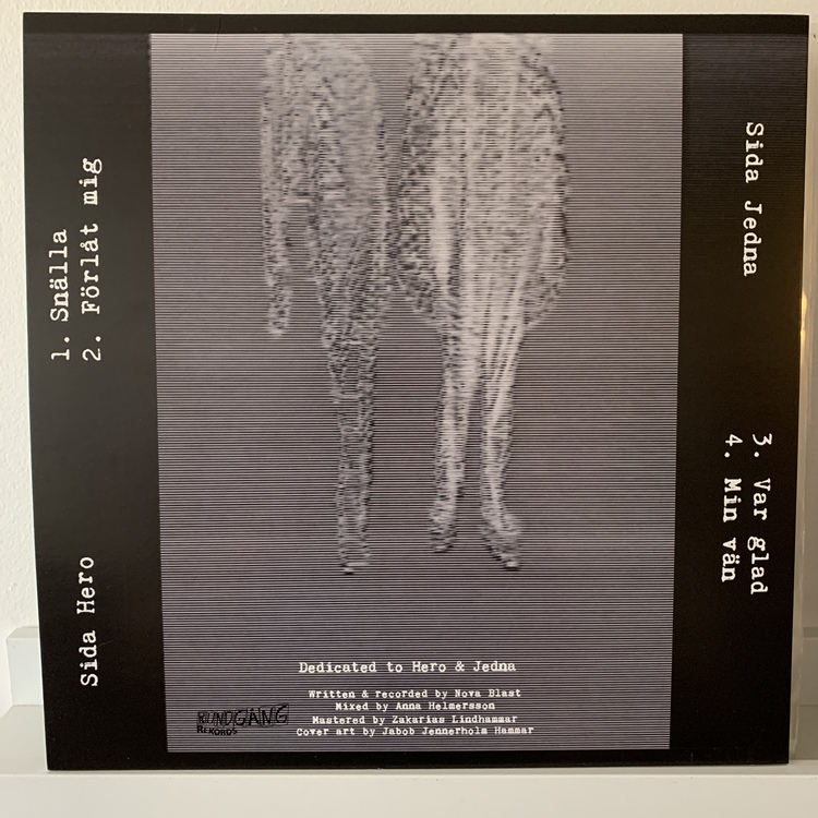 """NOVA BLAST - Min Vän 12""""EP"""
