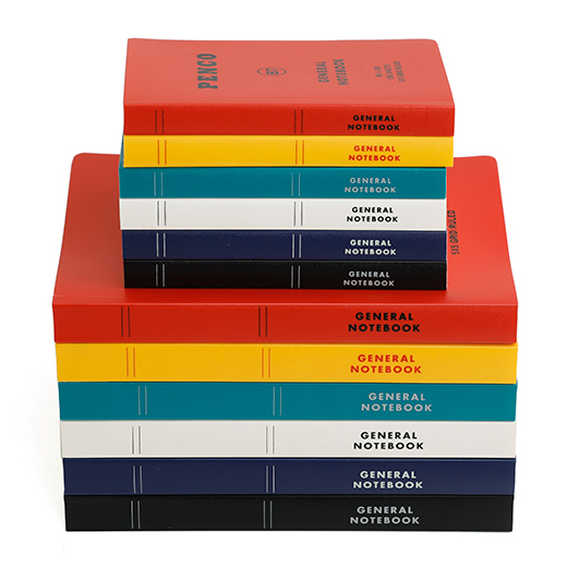 Penco Soft PP Notebook [B6] Svart
