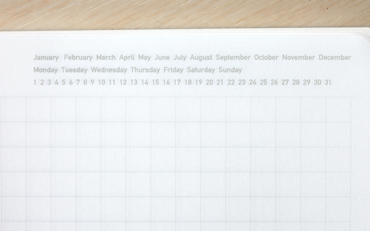 Stálogy 018 1/2 Year Notebook [A6] Blå