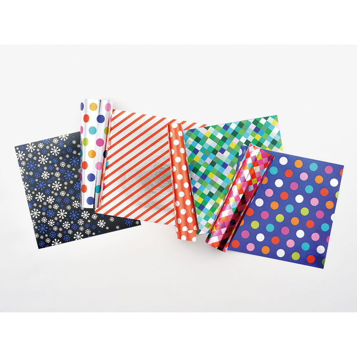 Midori Origamipapper Metallic Dots