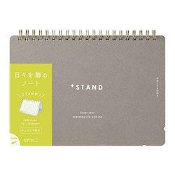 Midori + Stand Notebook [A5]