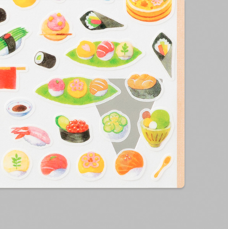 Midori Sticker Marché Sushi närbild