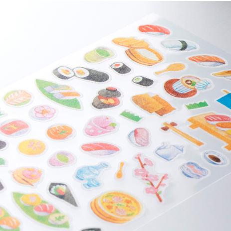 Midori Sticker Marché Sushi snett