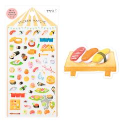 Midori Sticker Marché Sushi