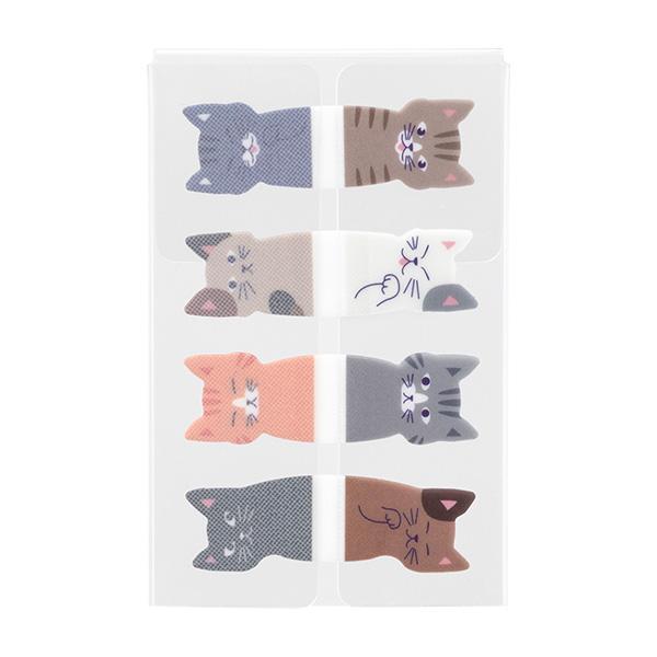 Midori Sticky Notes Cats