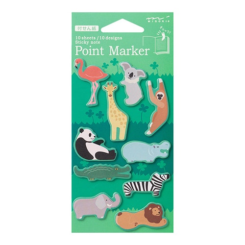 Midori Point Marker Zoo
