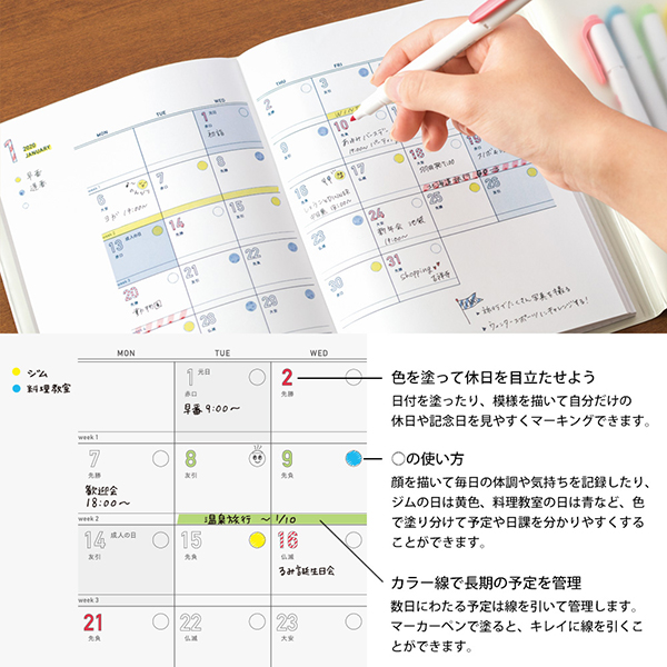 Midori MD 2020 Paper Paint Diary [A5]