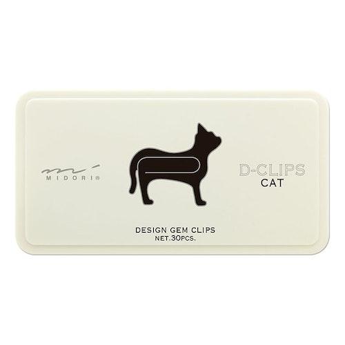 Midori D-Clips Cat