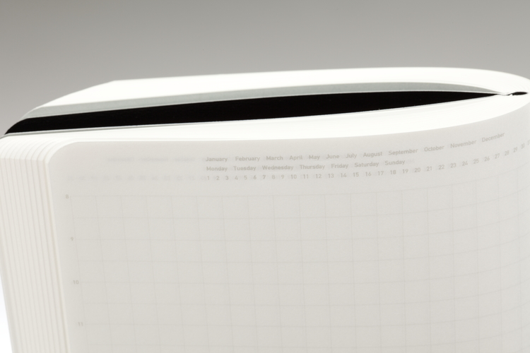 Stálogy 018 365 Days Notebook [A5] Svart