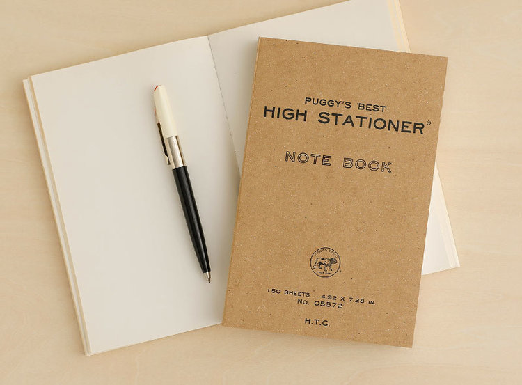 Hightide Puggy's Paperback Notebook
