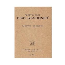 Hightide Puggy's Pocket Paperback Notebook