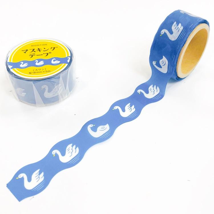Hightide Retro Masking Tape Swan