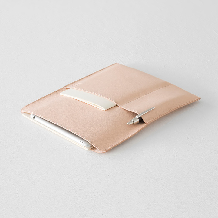Midori MD Goat Leather Note-Bag [A5] Vertical