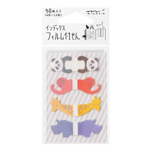 Midori Sticky Notes Zoo