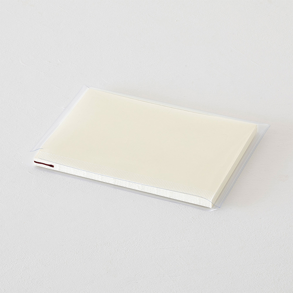 Midori MD Clear Cover Notebook Bag [A5] Horizontal