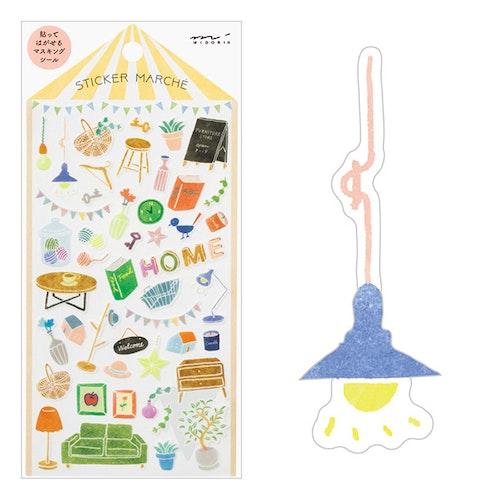 Midori Sticker Marché Interior