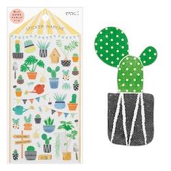 Midori Sticker Marché Cactus
