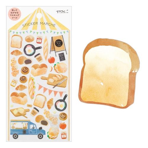 Midori Sticker Marché Bread