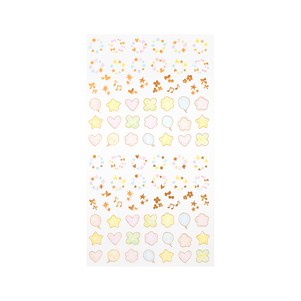 Midori Sticker Collection Twinkling Pastel