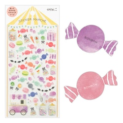 Midori Sticker Marché Candy